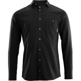 Aclima Woven Wool Shirt Men, jet black